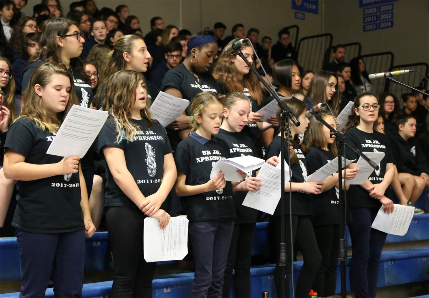 Music was provided by the BR Jr. Xpression under the direction of Mary Tabone.Photo by Jenna Madalena.
