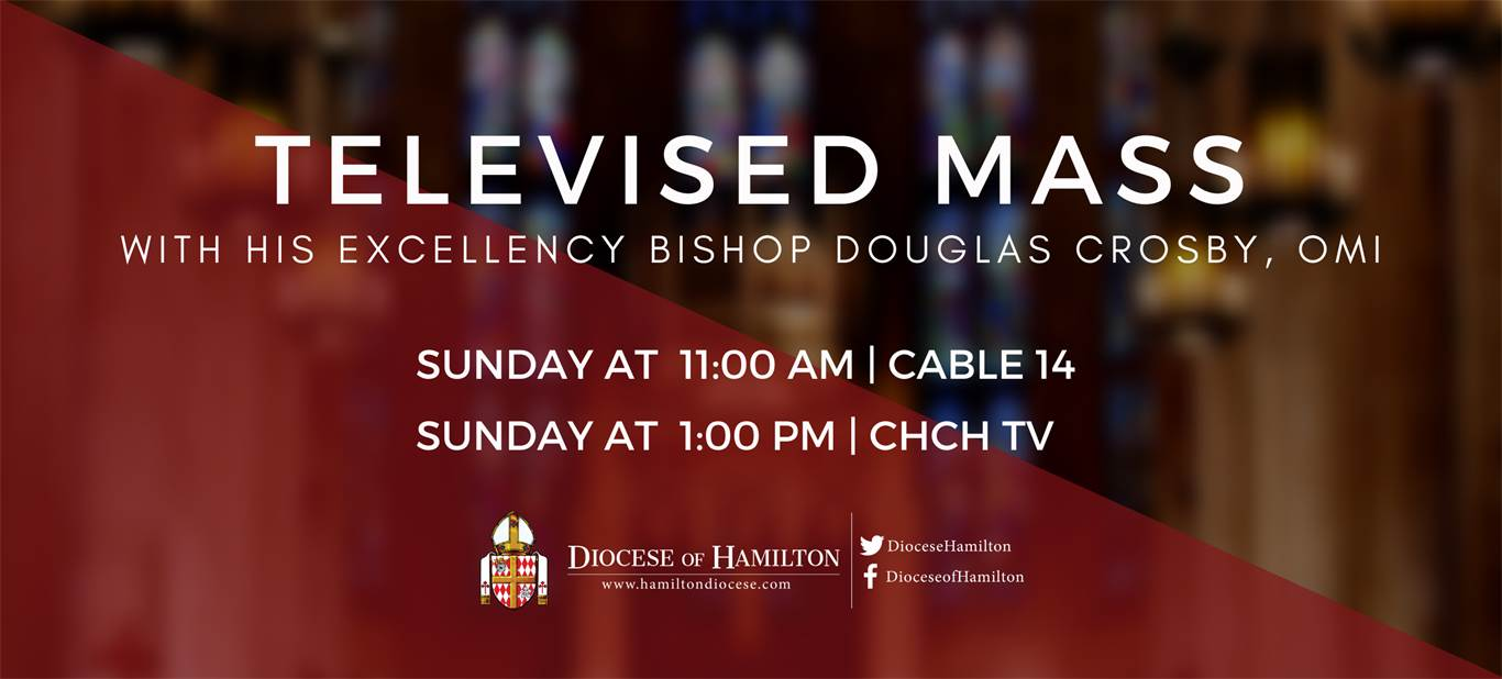 Banner Image for Televised Mass - Sunday 11am and 1pm